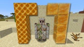 KAPOTTE IRON GOLEMS, HONING BLOKKEN en MEER!!! - Minecraft 1.15 update - Snapshot 19w41a