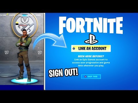 How To SIGN OUT OF FORTNITE ON PS4 (EASY METHOD)