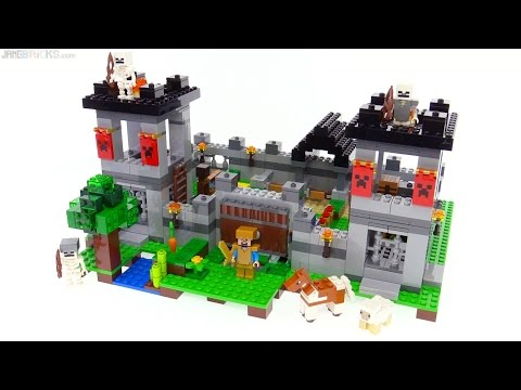 LEGO Minecraft: The Fortress review! 21127