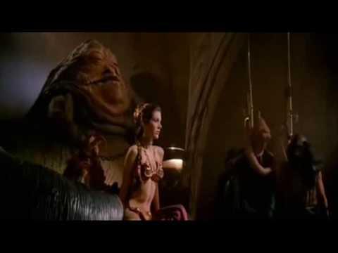 """Return of the Jedi"" Slave Leia Scene"