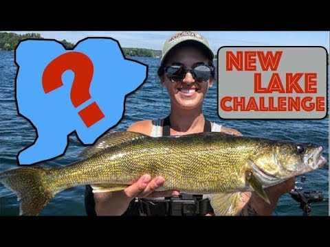 Walleye Fishing On A New Lake -  Day 4