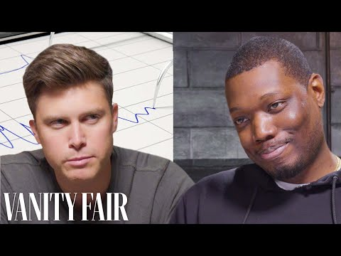 SNL's Colin Jost and Michael Che Take a Lie Detector Test | Vanity Fair