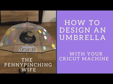 Cricut project/Vinyl umbrella