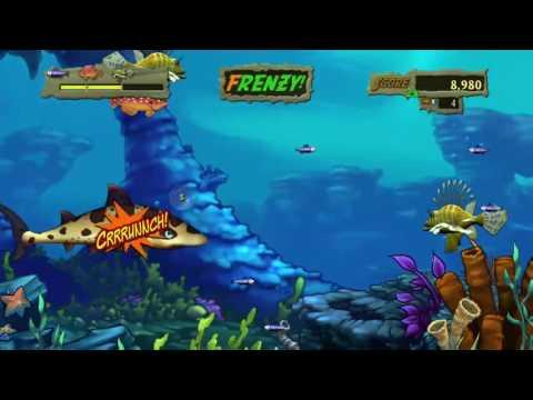 Feeding Frenzy 2 Game on the XBOX ONE  -  FIRST TWITCH STREAM :)