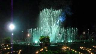Musical Fountain at Raja Seat, Madikeri (Coorg), India