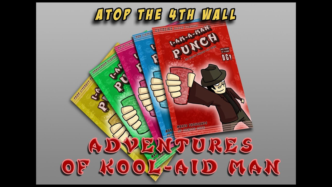 Adventures of the Kool-Aid Man #1 - Atop the Fourth Wall - YouTube