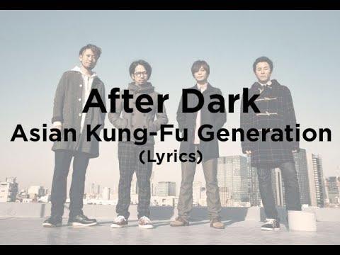 dark generation lyrics kung-fu after Asian