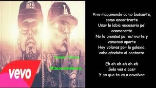 Ñengo Flow Ft. Pinto - La Contraria  2014 (Letra)