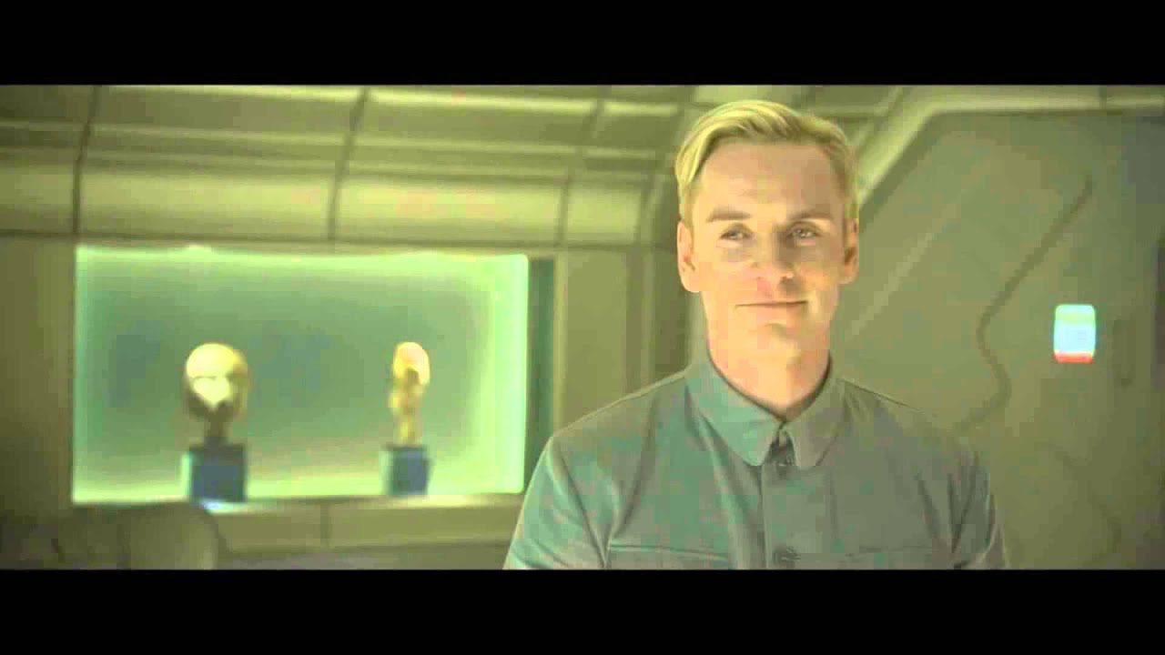 "Prometheus: Michael Fassbender (David 8) - ""The wires ..."
