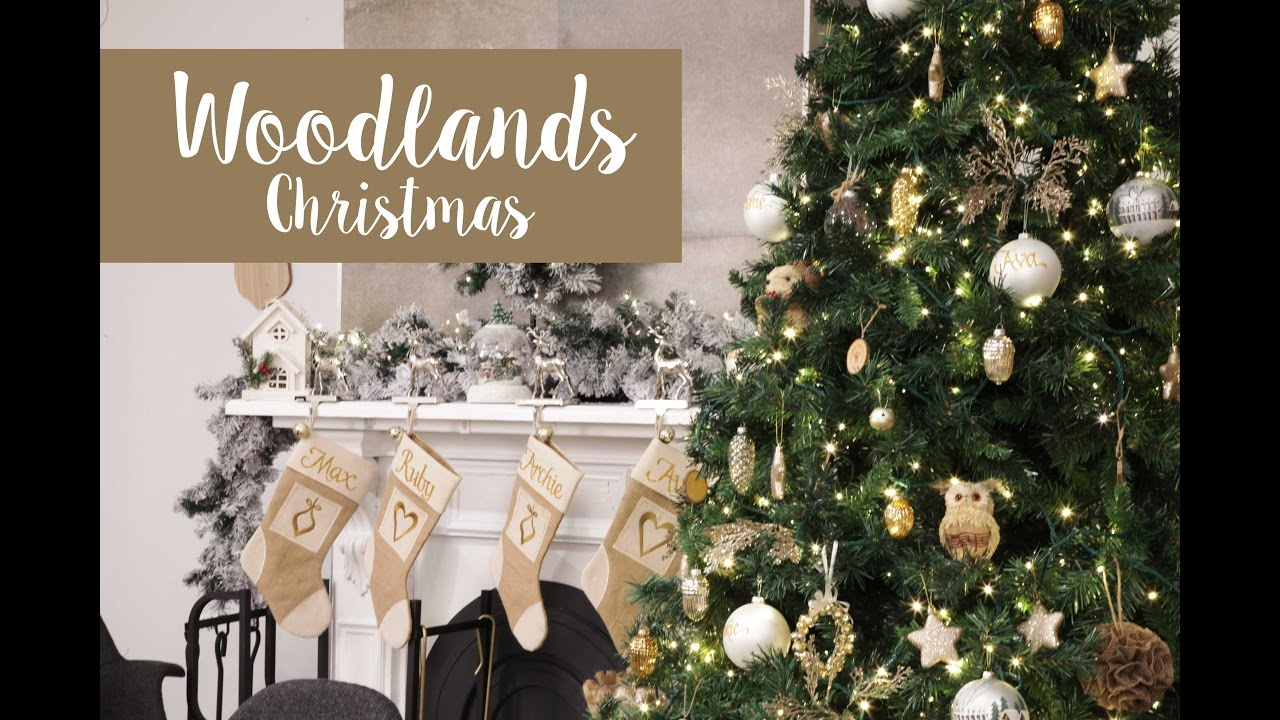 woodlands christmas decorating inspirations