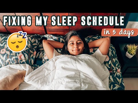 I Tried To Fix My Sleep Schedule In 5 DAYS (practical + easy tips) ft. Duroflex #KritikaVlogs