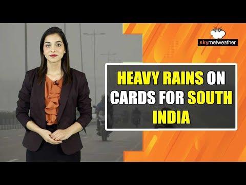 Rains Ahead For Kerala, Tamil Nadu, Chennai, Hyderabad | Skymet Weather