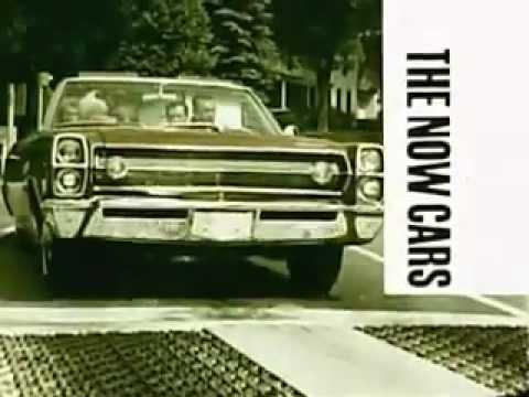 1967 AMC The Now Cars Commercial Ambassador Marlin Rebel and Rambler American