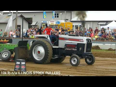 10k N/A tractors HAZELWOOD INDIANA 2018. ILLINOIS STOCK PULLERS ASSOCIATION