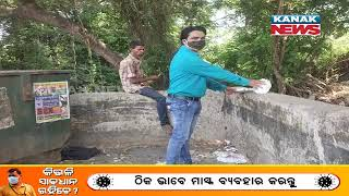 Lockdown: Hungry Man Spotted Eating From Dustbin In Sambalpur