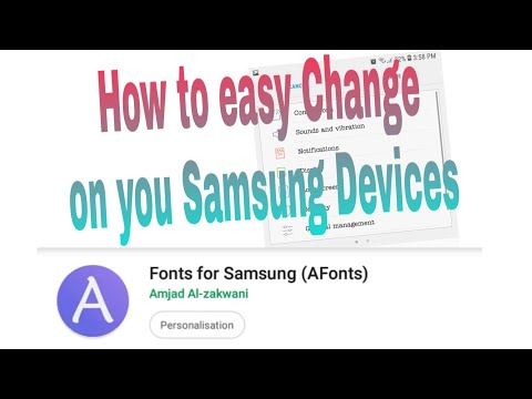 Change Font For Samsung Devices Nougat And Oreo Supported