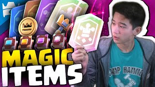 MAGIC ITEMS Update in Clash Royale: Full Update Overview & Season 22 Balance Changes!