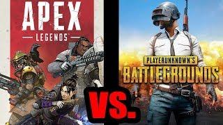 Apex Legends VS PUBG, Can Respawns Battle Royale Challenge The Original BR? (PS4)