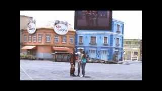 Pedido de casamento Jean e Jana no Extreme Show - Beto Carrero!!!!!  (23/01/2013)