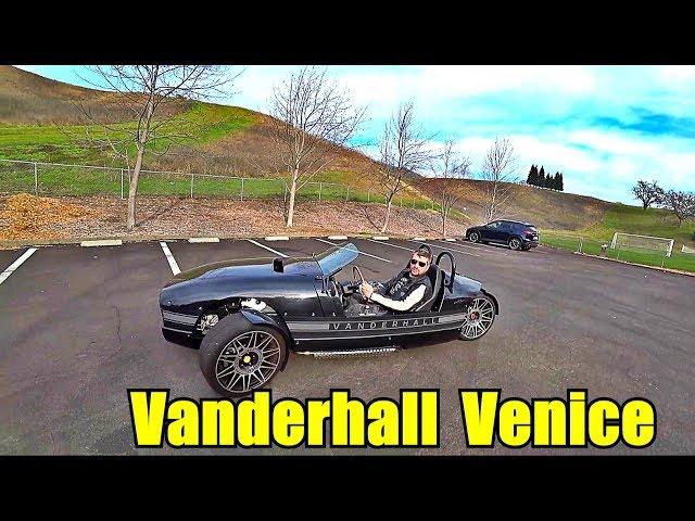 Обзор Vanderhall Venice. Если у вас есть лишние  $30000, которые ну совсем не на что потратить.