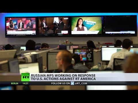 Russian lawmakers work on response to US actions against RT America