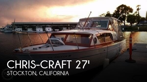 [UNAVAILABLE] Used 1962 Chris-Craft Constellation 28 in Stockton, California