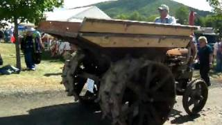 Fordson Iron Mule Dump Tractor at Nittany Antique Tractor Show 2010