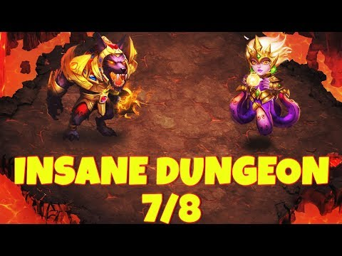 Helping A Subscriber #7 | INSANE DUNGEON 7/8 | CASTLE CLASH