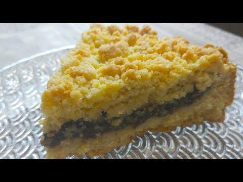 Видео: Песочный Пирог из СССР. Тертый пирог с шоколадной начинкой.