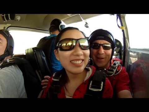 Skydive South Sask Tandem Video: - - Ximing Huang