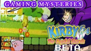 Gaming Mysteries: Kirby 64 The Crystal Shards Beta (N64)