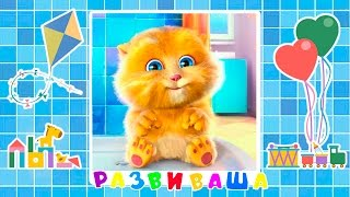 Скачать Говорящий кот Развиваша Смешной котенок Развиваша