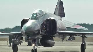 【引退間近!】 航空自衛隊 F-4EJ改 スーパーファントム スクランブル発進 ~ 模擬対地射爆撃 / F-4 PHANTOM Ⅱ JASDF NYUTABARU AIR FESTA 2013