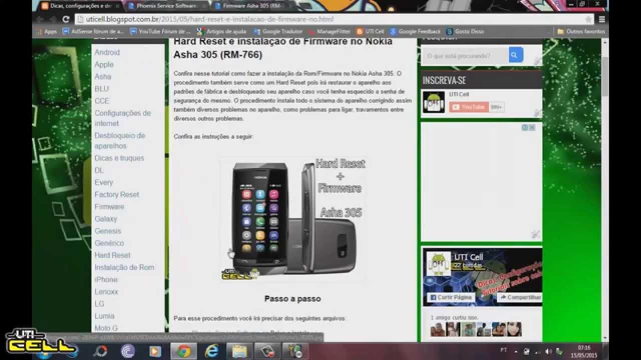 Nokia asha 305 phone. Announced jun 2012. Features 3. 0″ display, 2 mp primary camera, 1110 mah battery, 10 mb storage, 32 mb ram.