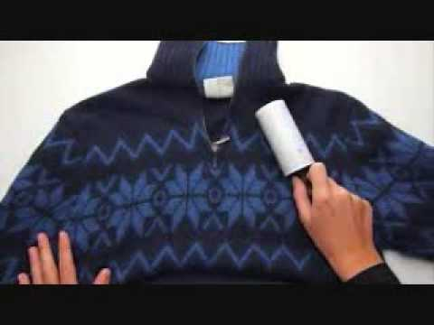 Como quitar pelusa de la ropa (Muy facil)