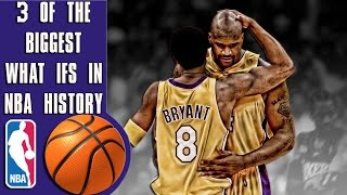 "3 of the biggest ""What ifs"" in NBA history"