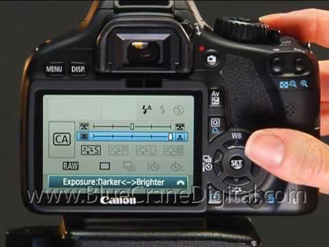 introduction to the canon t2i basic controls youtube rh youtube com Canon Rebel SL1 Canon EOS Rebel T3i