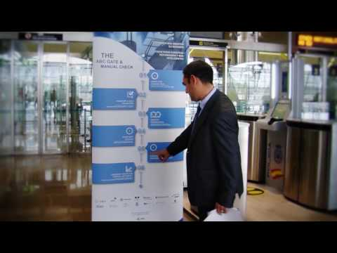 Madrid-Barajas EES & e-gate - ABC4EU project