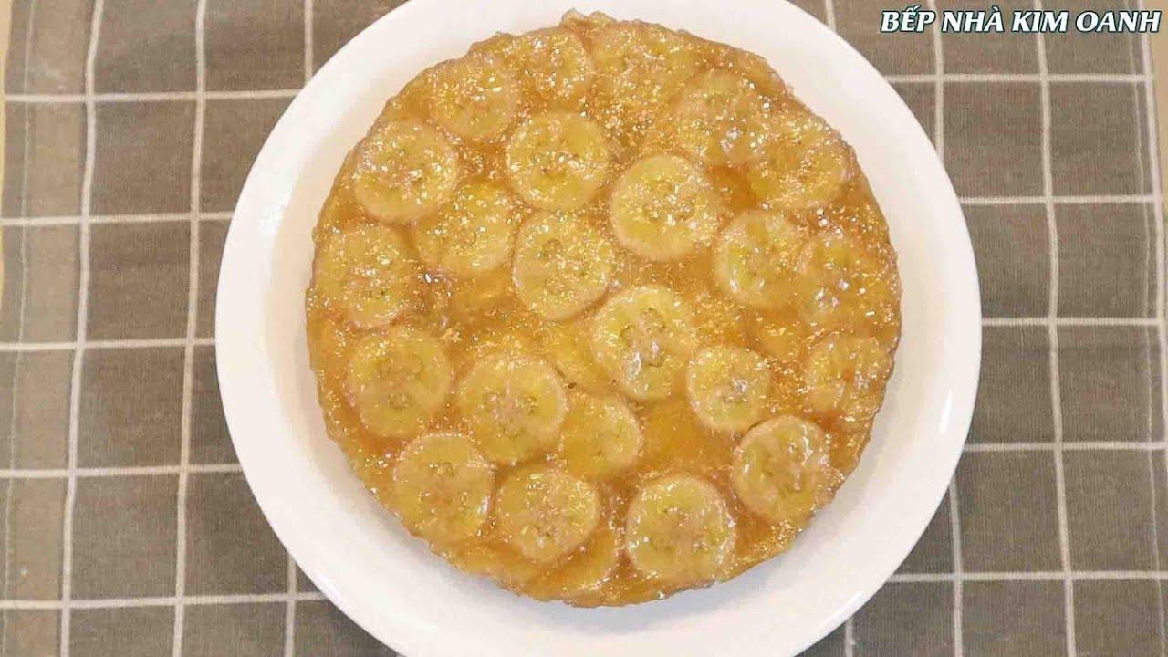 Cách làm BÁNH CHUỐI HẤP NƯỚC CỐT DỪA - Bí quyết làm bánh vàng đẹp không sử dụng màu thực phẩm
