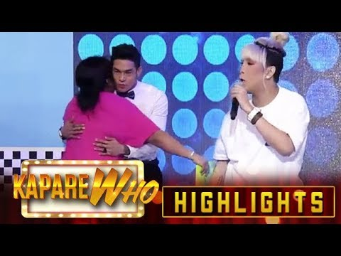 Vice lets Ion kiss a Madlang People | It's Showtime Kaparewho