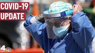 Coronavirus Infection Rate Slowly Ticking Up in New York | NBC New York COVID-19 Update