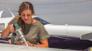She's a NEW PILOT! Ferrying a PA28-180 with Katey - Texas to Arizona