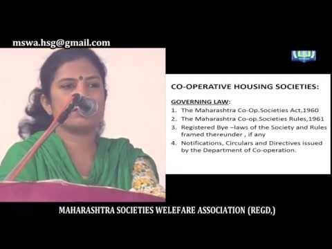 New Model Bye Laws of the Cooperative Housing Society, CA SHILPA SHINAGARE