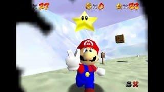 Speed Game - Super Mario 64 - Fini en 1h20 avec les 120 étoiles - 2/2