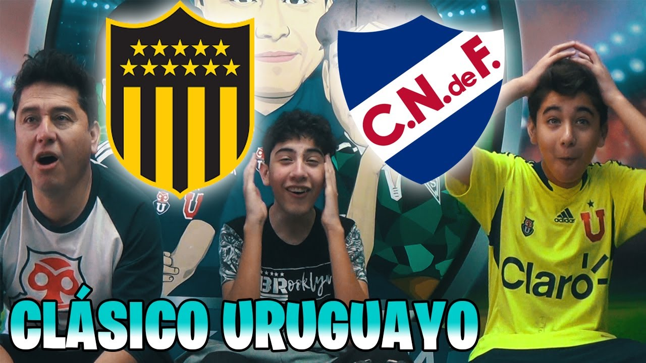 PEÑAROL VS NACIONAL - VIDEO REACCION HINCHAS CHILENOS