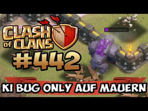 CLASH OF CLANS #442 ★ BUG GOLEM NUR AUF MAUERN IM CW !!! ★ Let's Play COC ★ German Deutsch HD
