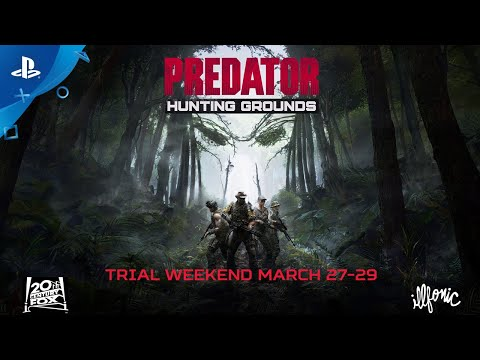 Predator: hunting grounds - trial weekend march 27-29 | ps4