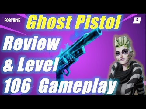 Ghost Pistol Gameplay & Review / Fortnite Save the World
