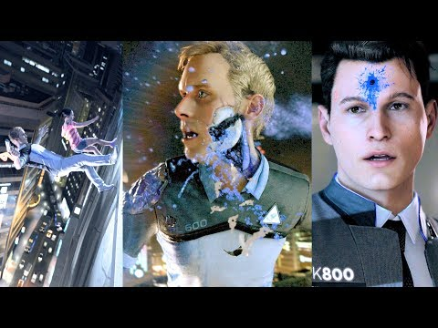 Detroit Become Human - All Endings