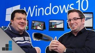 Windows 10 gratis, HoloLens & mehr - Erfindet Microsoft den PC neu? - Tech-up | deutsch / german